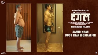Fat To Fit | Aamir Khan Body Transformation - Dangal