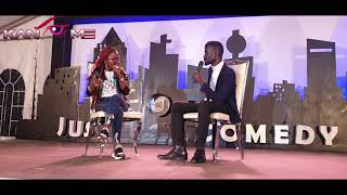 Is it good for a girl to pay their dowery!? Kansiime Anne roasted at Just comedy