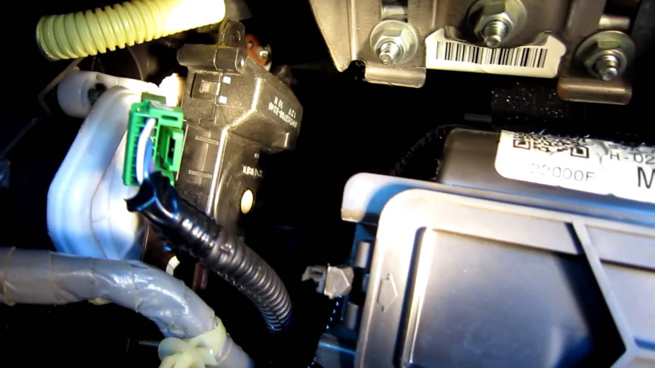 2007 Honda Civic Air Mode Control Motor Replacement Install Youtube