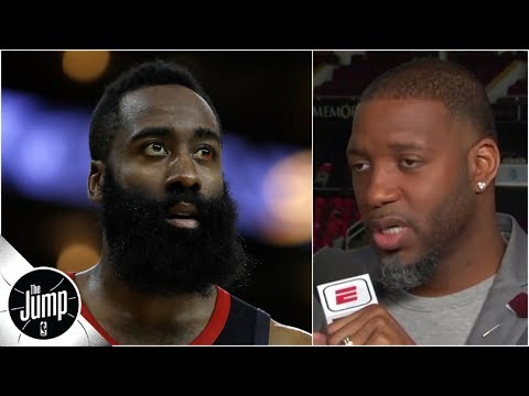 'Take over the game!': Tracy McGrady frustrated by James Harden's play in Game 5 | The Jump