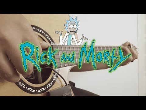 Rick and Morty Theme - [Free Tabs] Fingerstyle Guitar Cover