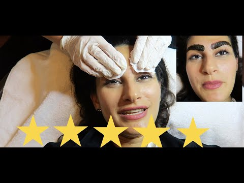 I WENT TO THE BEST REVIEWED EYEBROW ARTIST IN DUBAI