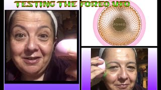 Foreo UFO smart mask treatment : first impression review UPDATE AT 7 weeks -link in description