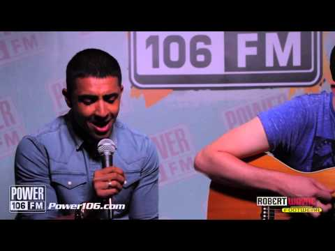 Jay Sean performs 'Mars' LIVE Acoustic Set at POWER 106