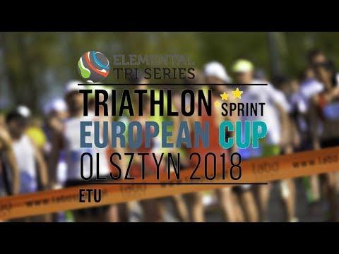 Puchar Europy w Triathlonie Olsztyn 26.05.2018