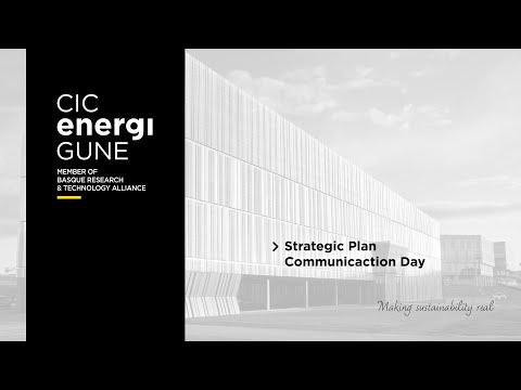 Strategic Plan Communication Day   CIC EnergiGUNE 2013
