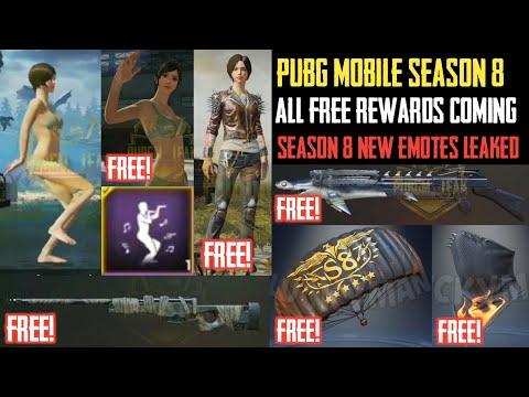 Pubg Mobile Season 8 Free Royal Pass Rewards Pubg Mobile Season