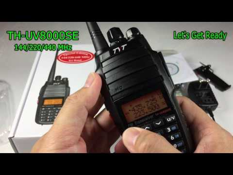 TYT TH-UV8000SE 144/220/440 Mhz Tri-Band Radio
