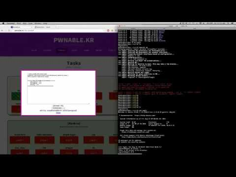 [Writeup] pwnable.kr - geohot 2