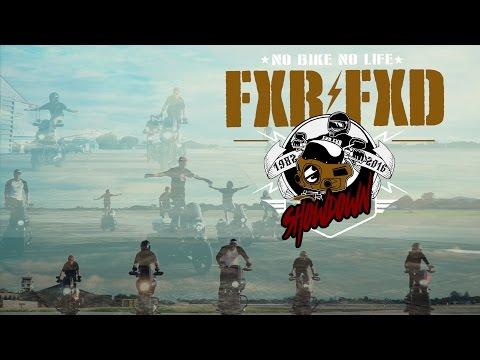FXR FXD ShowDown2016 @CNX Thailand [Full] - Harley Dyna FxrFxd only