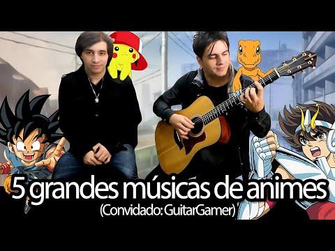 Medley: Cavaleiros do Zodíaco/Pokémon/Dragon Ball GT/Digimon, por The Kira Justice e GuitarGamer