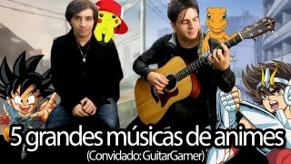 Medley: Cavaleiros do Zodíaco/Pokémon/Dragon Ball GT/Digimon, por The Kira Justice e GuitarGamer