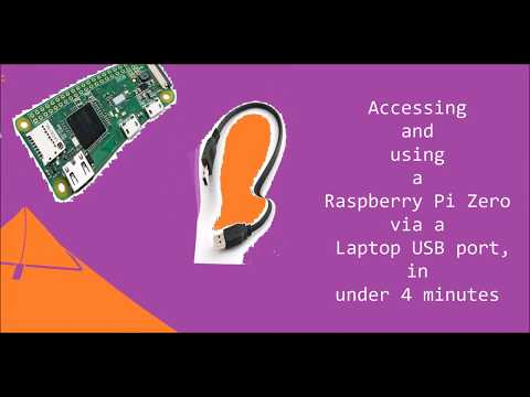 Use a Raspberry Pi from a Laptop