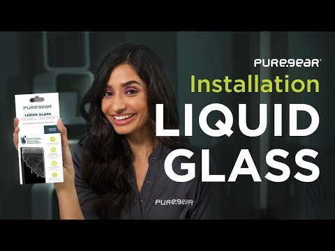 PureGear Liquid Glass Installation