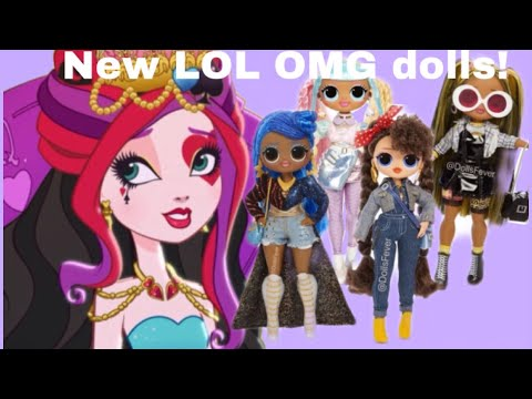 LIZZIE TALKS ABOUT NEW LOL SURPRISE OMG WAVE 2 DOLLS FOR SPRING 2020