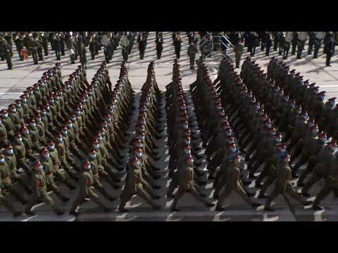 Военные марши и рев техники: как прошла репетиция Парада Победы в Подмосковье