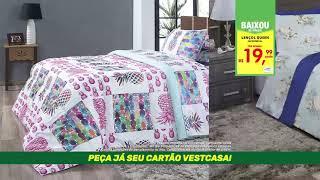 3058a35097 ABRIL EXTRAORDINÁRIO VESTCASA! - Lençol Queen Micropercal e Travesseiro  Forest