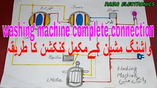 [DIAGRAM_4FR]  washing machine timer connection very simple guide in urdu hindi - YouTube | Wiring Diagram Of Washing Machine Timer |  | YouTube