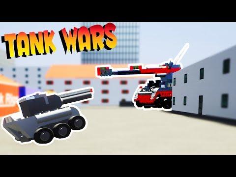 Brick Rigs Game | TANK WARS CHALLENGE PART 3 | Brick Rigs Multiplayer Online Gameplay /w SpyCakes