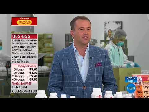 HSN | Andrew Lessman Live From ProCaps Laboratories 02.25.2018 - 12 PM