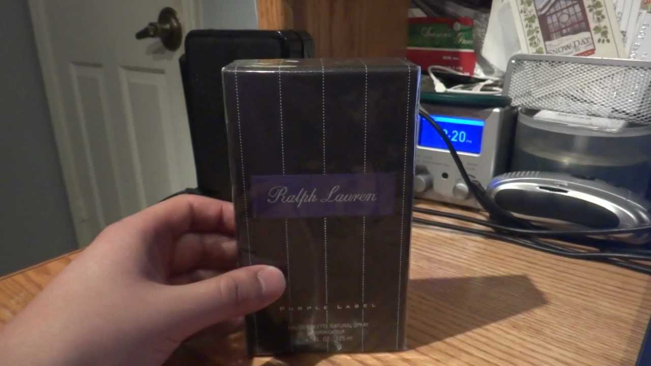 Ralph And Label CologneUnboxing Men's Lauren Review Purple yIbYf6m7vg