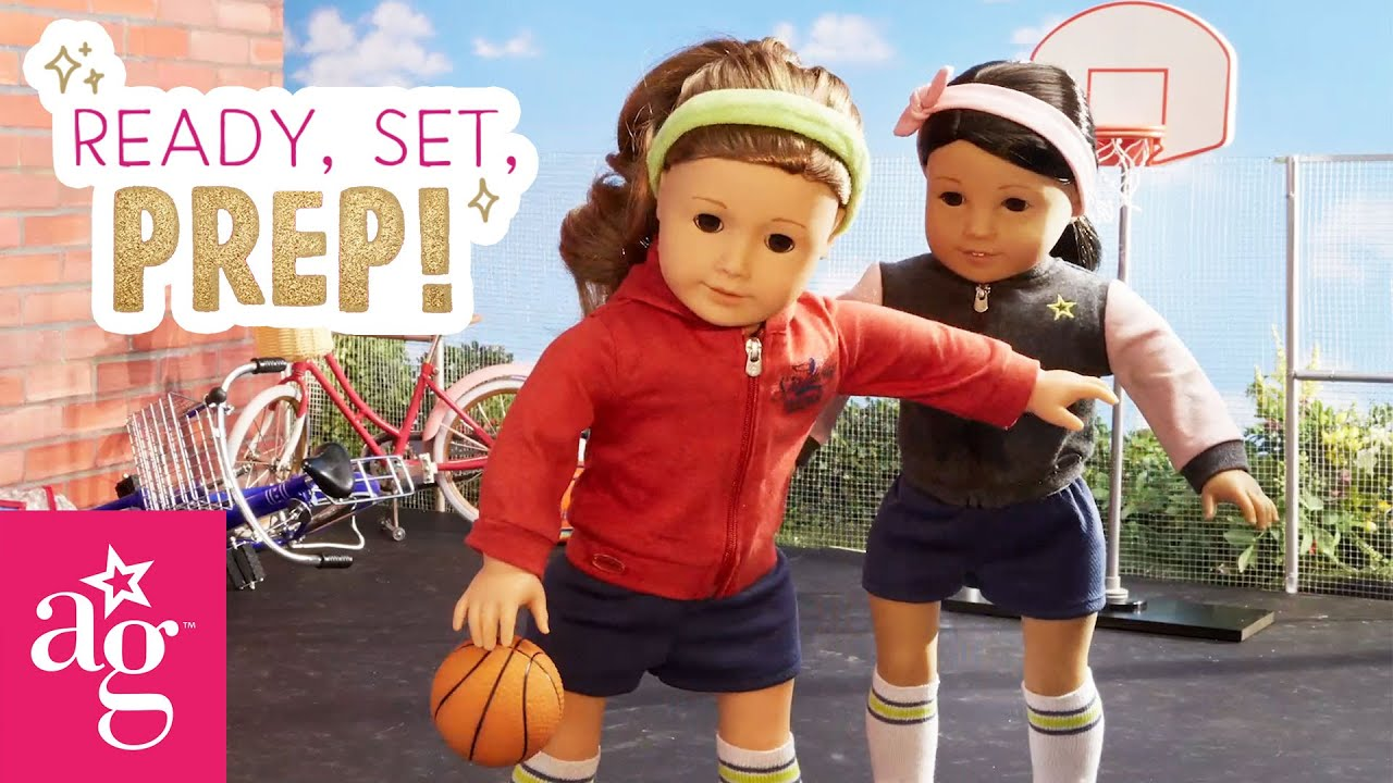 All-Star Basketball Players Get Ready For Game Day | Ready, Set, Prep! Stop Motion | American Girl