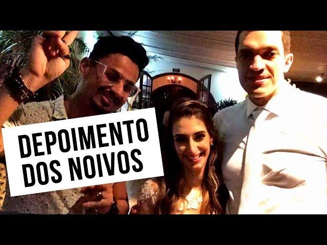 DEPOIMENTO DOS NOIVOS - Karine e Fabiano - BANDA FÊNIX