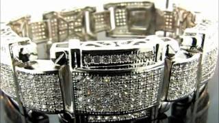 "9"" Premium Micro Pave Latin Bracelet(BRP32-1809GR) Thumbnail"