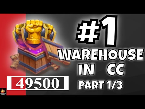 #1 WAREHOUSE In Castle Clash (Part 1/3)