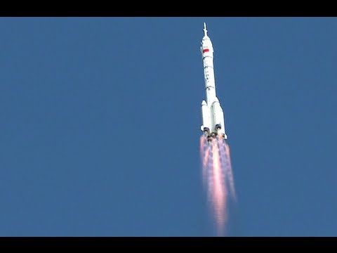 Video: China launches manned Shenzhou-10 craft to experimental space station