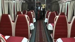 Поезд Москва - Париж отправился в свой первый рейс(( http://ntdtv.ru ) В понедельник из российской столицы отправился в свой первый рейс состав Москва - Париж. Поезд..., 2011-12-12T15:18:38.000Z)