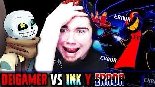 INK Y ERROR (LA BATALLA DEFINITIVA) | UNDERTALE (UNITALE)