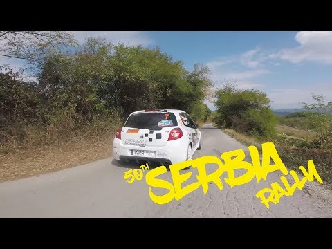 Racing Drone Chase Rally Cars | 50. Serbia Rally | FPV