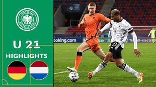 Nmecha rettet Remis gegen die Niederlande | Deutschland - Niederlande 1:1 | Highlights | U 21 EM