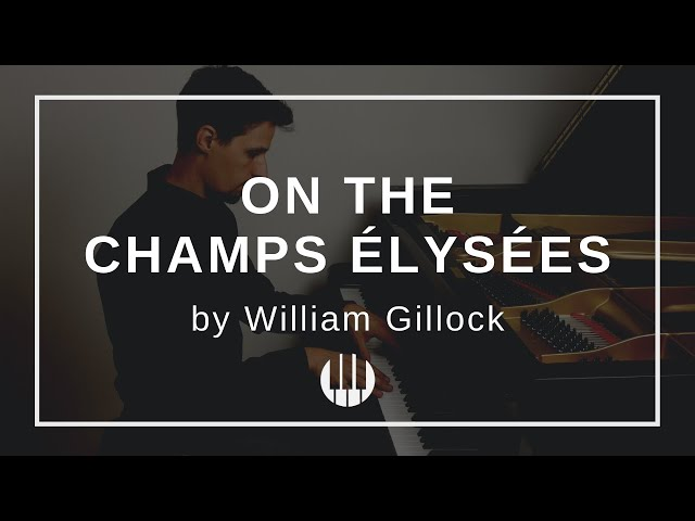 On the Champs Élysées by William Gillock