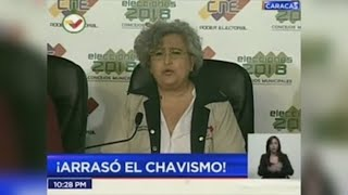 La coalición de Maduro arrasa en los comicios donde 7 de cada 10 votantes se abstuvo
