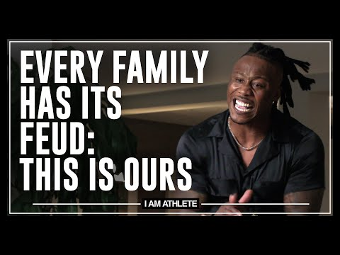 Every Family Has Its Feud: This Is Ours | I AM ATHLETE w/ Brandon Marshall, Chad Johnson & More
