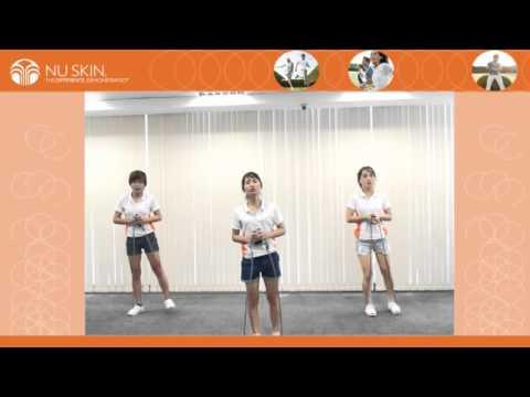 Bài tập thể dục chương trình TR90