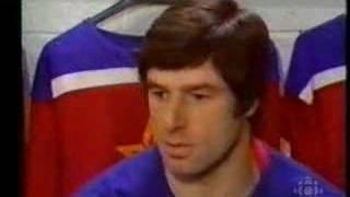1975 Valeri Kharlamov Interview CSKA Red Army vs Montreal