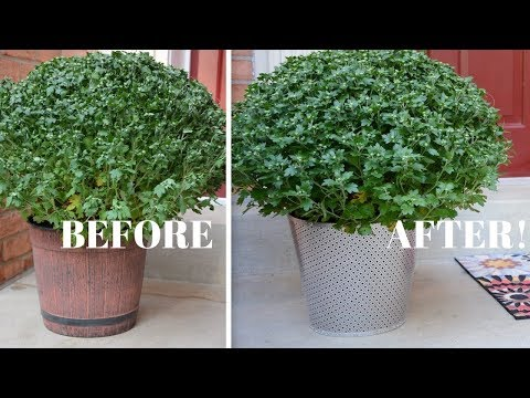 DIY Metal Garden Planters: DIY Crafts - Thrift Diving