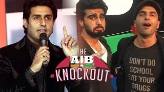 Abhishek Bachchan's REACTS On AIB Knockout CONTROVERSY