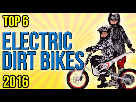 6 Best Electric Dirt Bikes 2016
