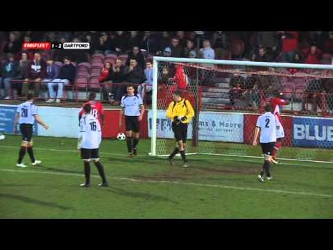 Ebbsfleet United v. Dartford 1-1-13