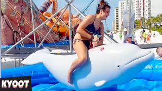 Ride That Dolphin! 🤠 | Baby Cute Funny Moments | Kyoot