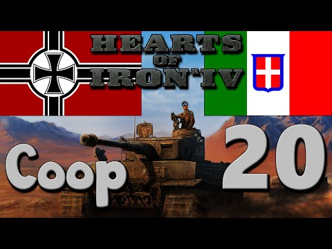 Hearts of Iron 4 Coop: Germany & Italy - Part 20: Success in Africa