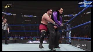 Samoa Joe vs. Jeff Hardy | WWE SmackDown Live: Nov.6, 2018