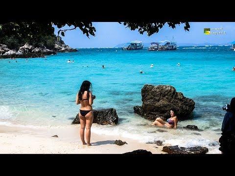 Ta Yai Beach Koh Larn PattayaThailand March 2017
