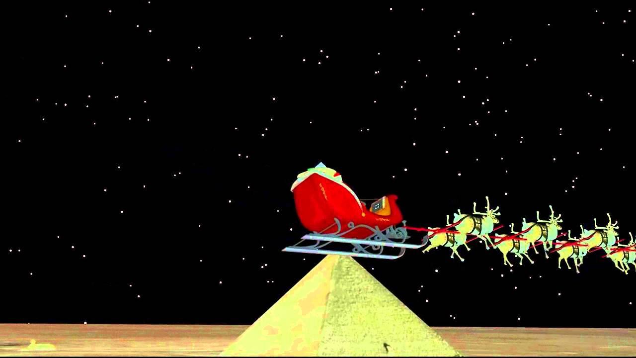 NORAD Track Santa Santa Cam - Egypt (2015) - NORAD Tracks Santa