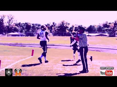 Some Peoria High / Manual Academy football game clips