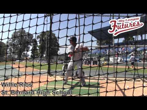 Willie Rios, St Bernard High School, Batting Practice at the @acbaseballgames